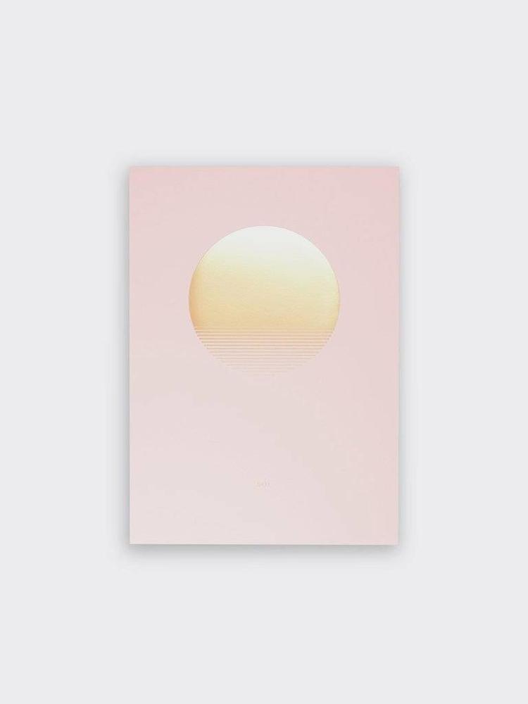 Tom Pigeon Tom Pigeon Sol Rise Print - A3