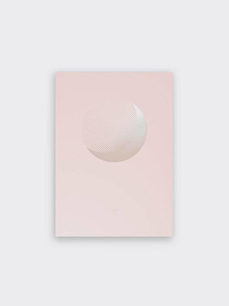 Tom Pigeon Tom Pigeon Luna Rise Print - A3