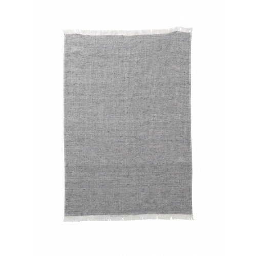 ferm LIVING Blend Knitted Kitchen Towel - Grey