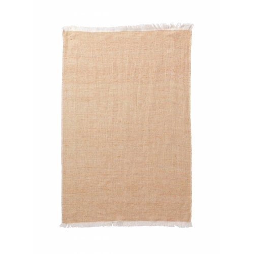 ferm LIVING Blend Knitted Kitchen Towel - Peach