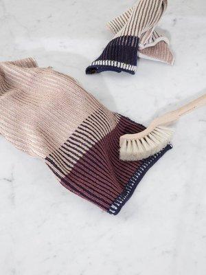 ferm LIVING Ferm Living Akin Knitted Dish Cloth - Rose