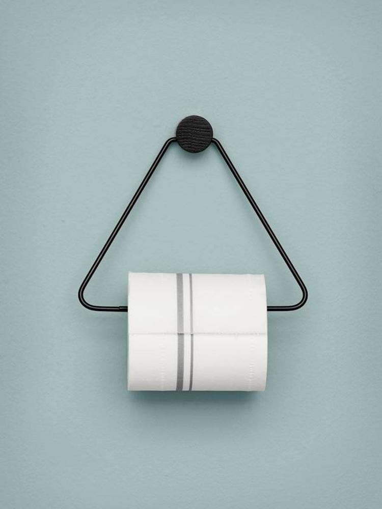 ferm LIVING Ferm Living Toilet Paper Holder - Black