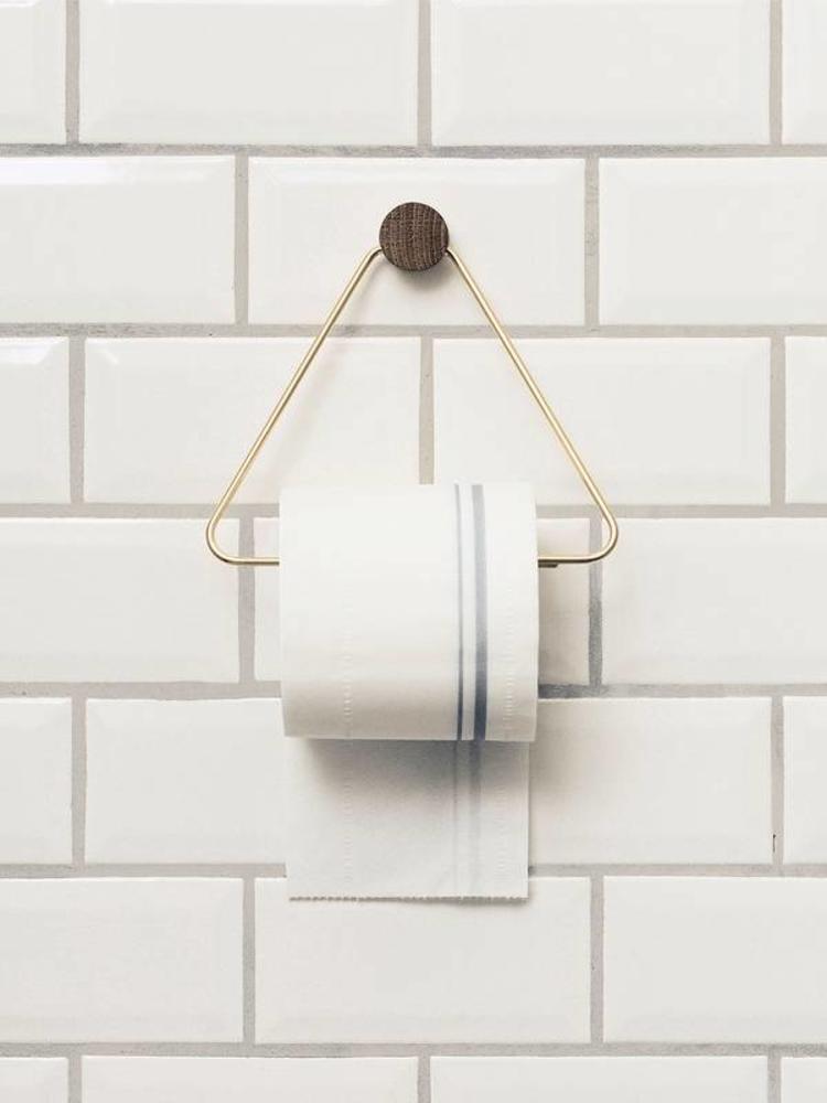 ferm LIVING Ferm Living Toilet Paper Holder - Brass