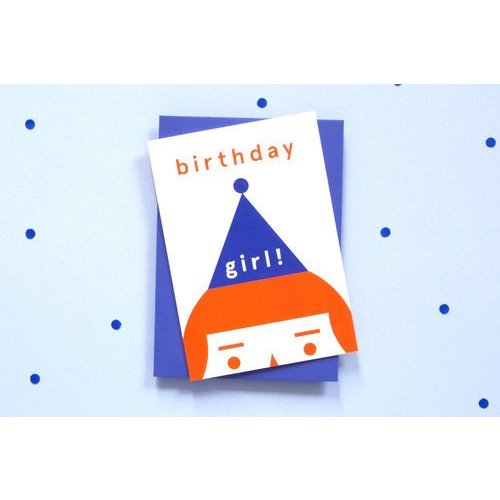 Ola OLA jr Birthday Girl! Greeting Card