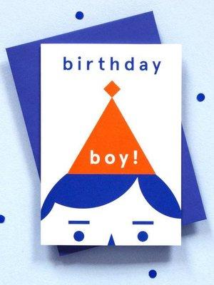 Ola OLA jr Birthday Boy! Greeting Card