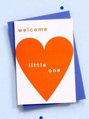 Ola OLA jr Welcome Little One Greeting Card