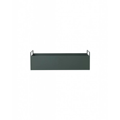 ferm LIVING Plant Box - Dark Green - Small