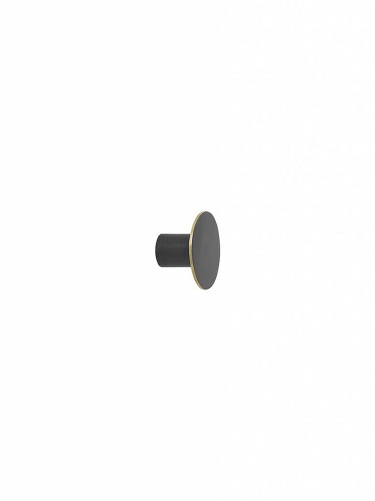 ferm LIVING Ferm Living Hook - Black Brass - Small