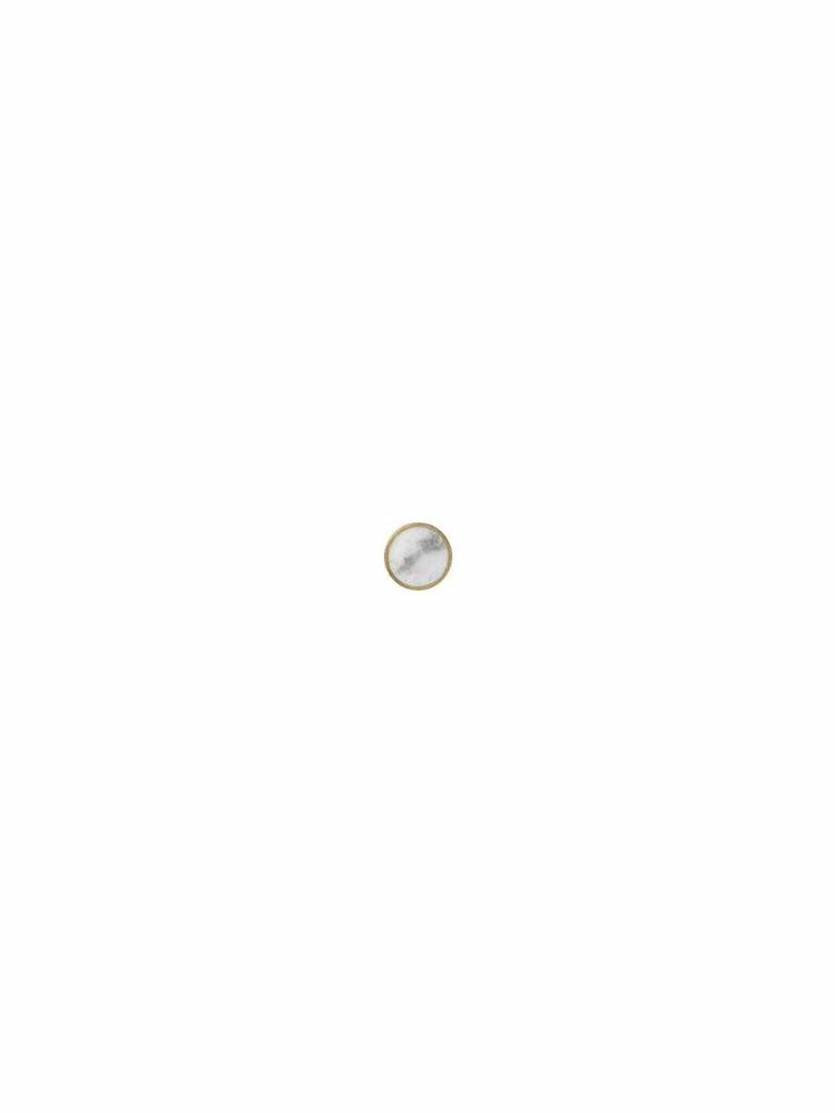 ferm LIVING Ferm Living Hook - Stone - Small - Marble White