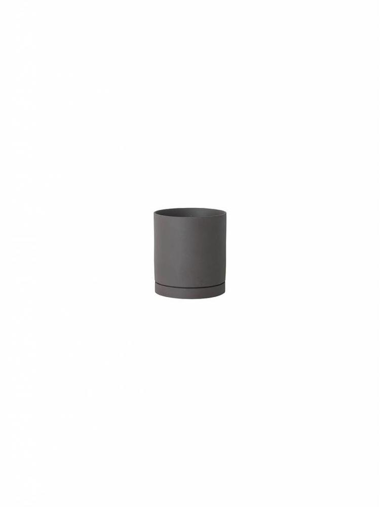 ferm LIVING Ferm Living Sekki Pot - Charcoal - Large