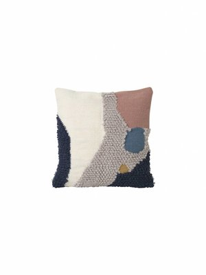 ferm LIVING Loop Cushion - Landscape