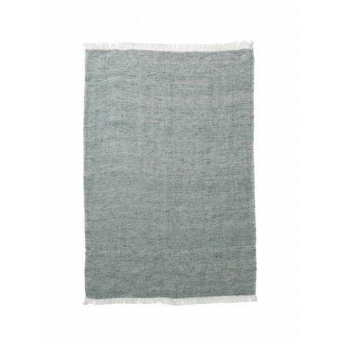 ferm LIVING Blend Knitted Kitchen Towel - Green