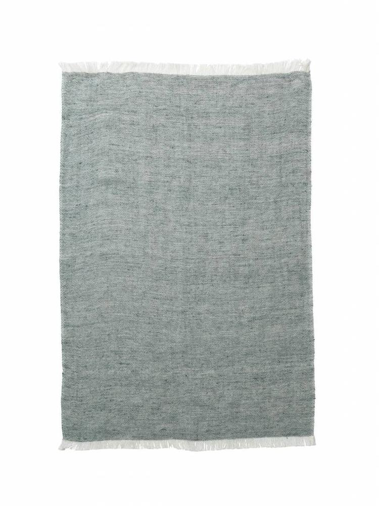 ferm LIVING Ferm Living Blend Knitted Kitchen Towel - Green