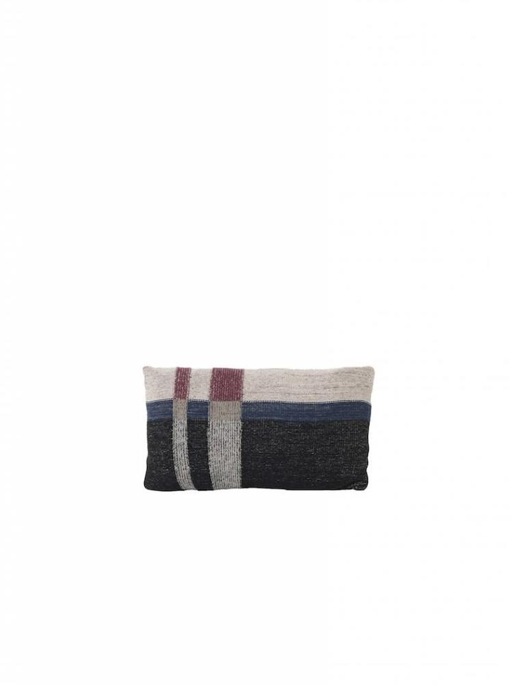 ferm LIVING Ferm Living Medley Knit Cushion - Dark Blue - Small