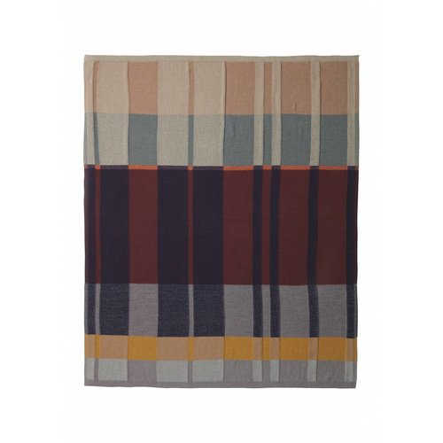 ferm LIVING Medley Knit Blanket - Multi