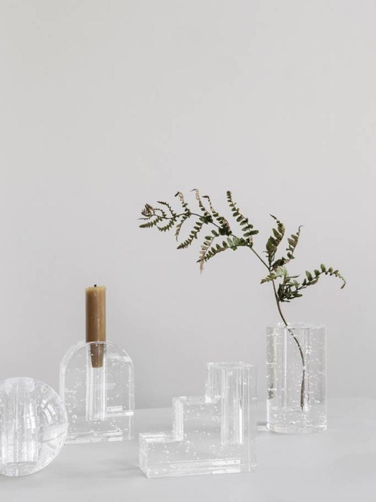 ferm LIVING Ferm Living Bubble Glass Object - Cylinder