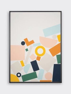 Tom Pigeon Limited Edition 'Stack' - 500x 700mm