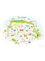 Holly Francesca Map of Norfolk A3