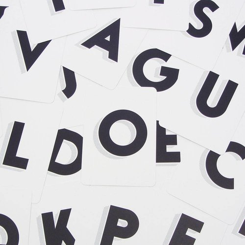 Tom Pigeon Cinematype Alphabet Postcards