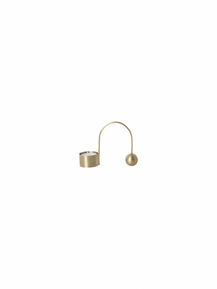 ferm LIVING Ferm Living Balance Tealight Holder - Brass