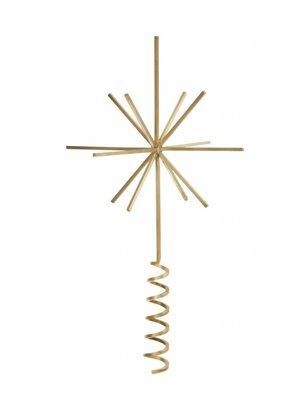 ferm LIVING Brass Christmas Tree Top Star