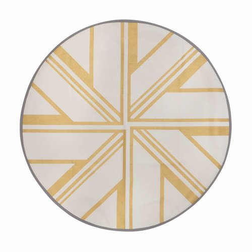 ferm LIVING Gold Star Christmas Tree Floor Mat