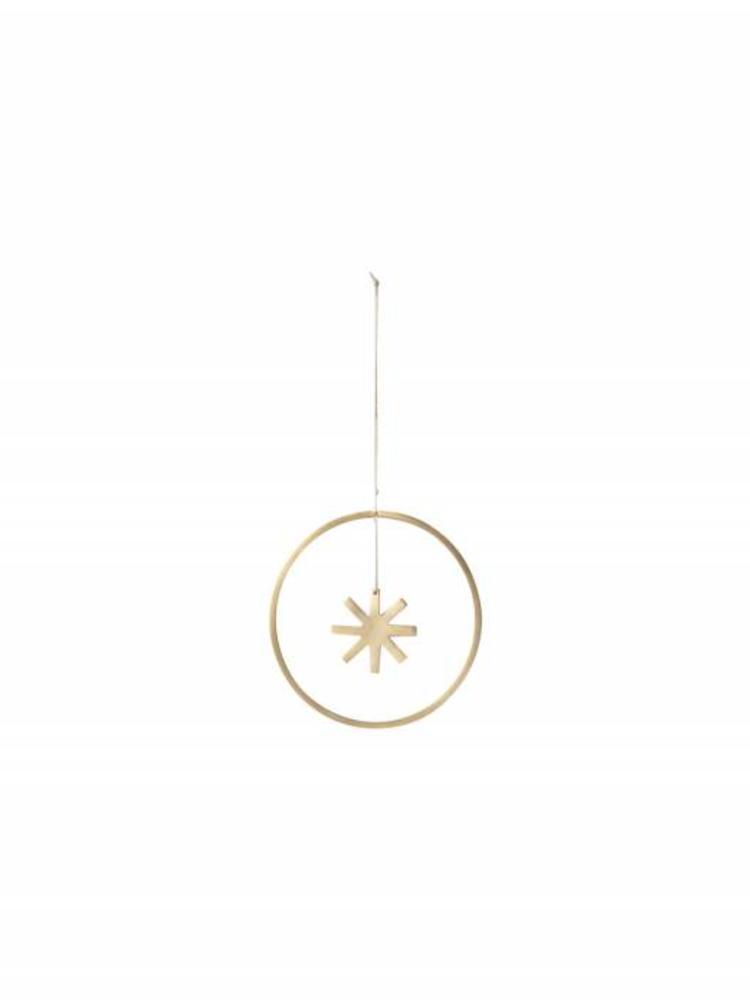 ferm LIVING Ferm Living Winterland Brass Star - Small