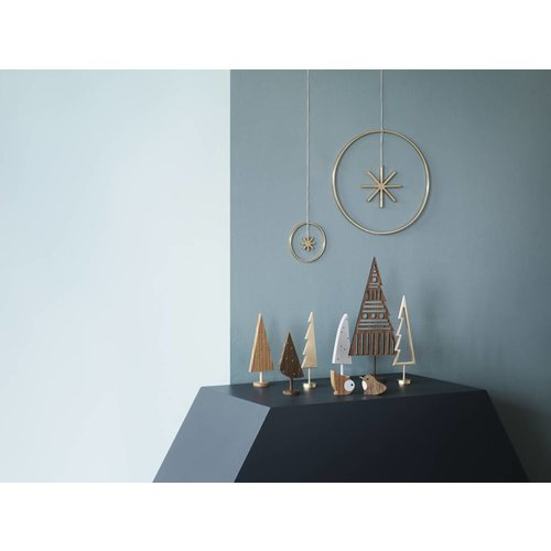 ferm LIVING Winterland Brass Star - Small