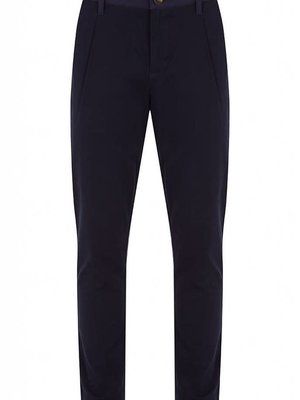 HYMN London DRILL Twill Cotton Navy Trousers