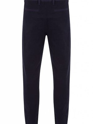 HYMN London HYMN DRILL Twill Navy Trousers