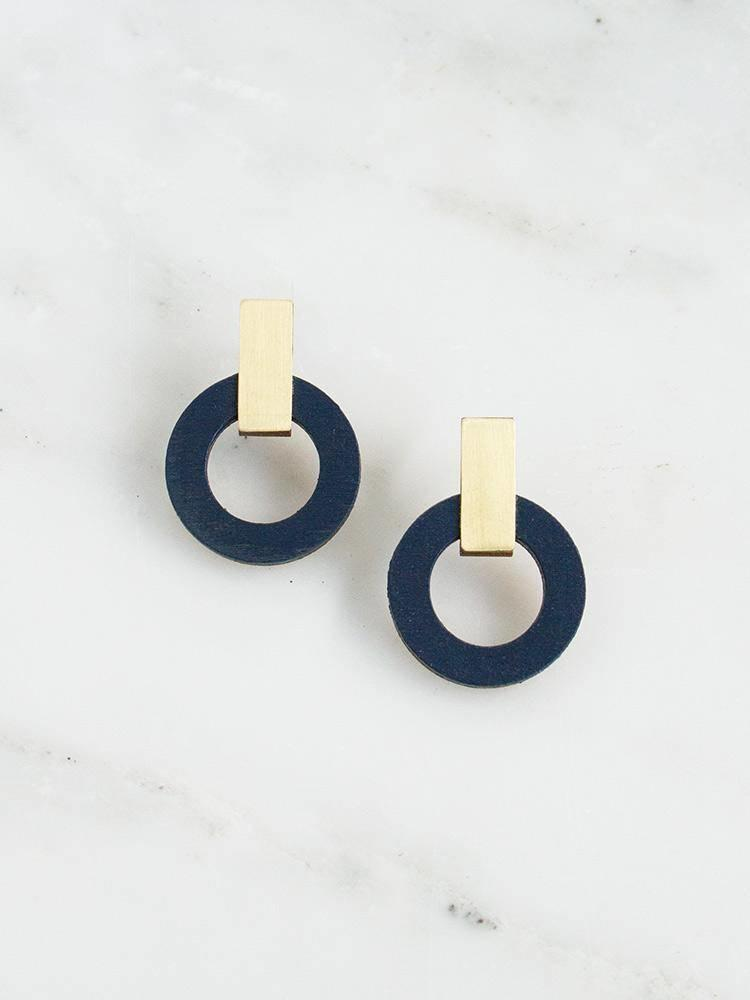 Wolf & Moon Wolf & Moon Orbit Earrings