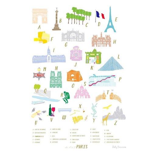 Holly Francesca A-Z of Paris - A3