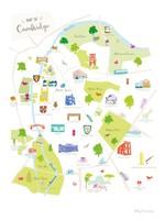 Holly Francesca Map of Cambridge - A3