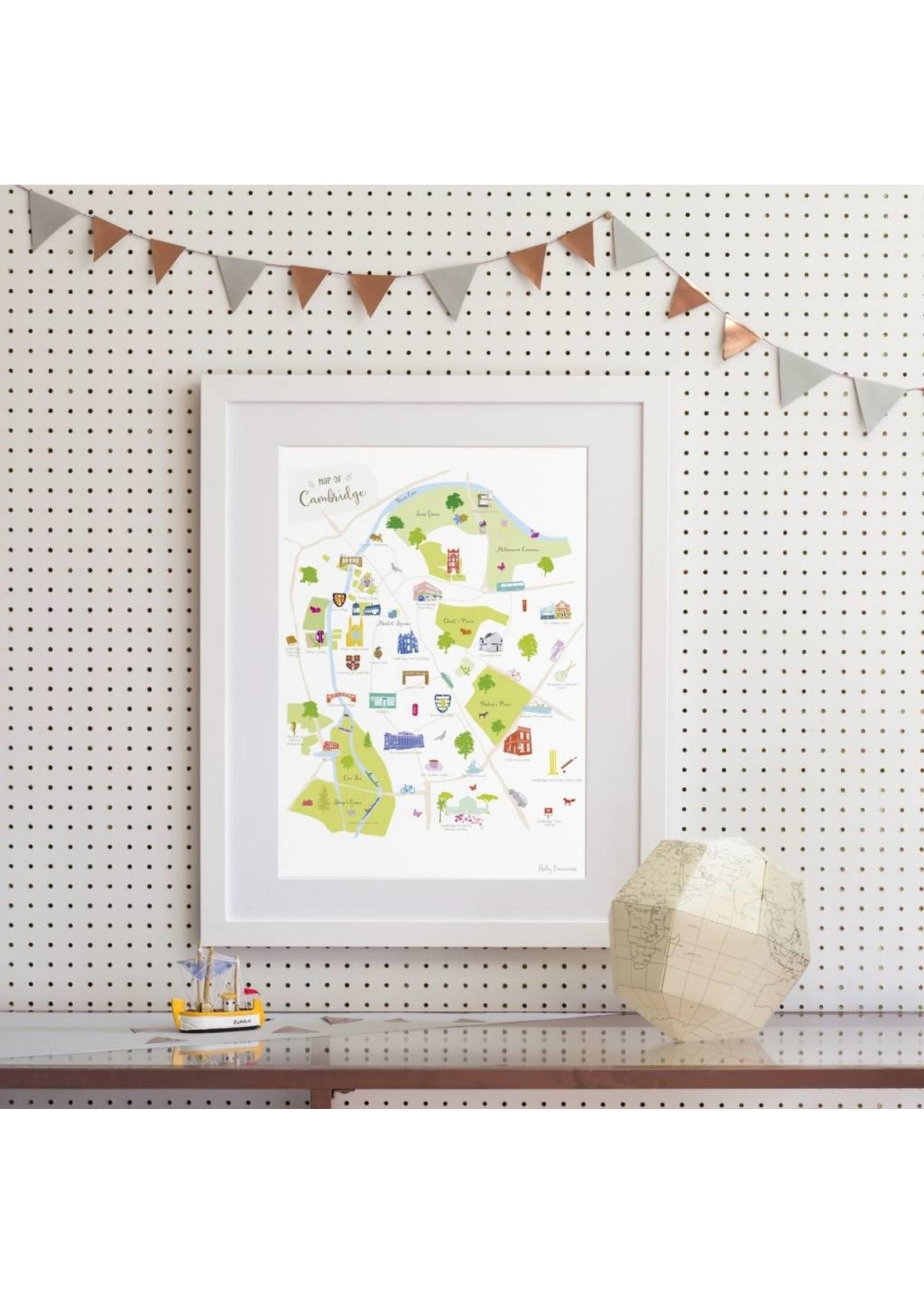 Holly Francesca Holly Francesca Map of Cambridge - A3