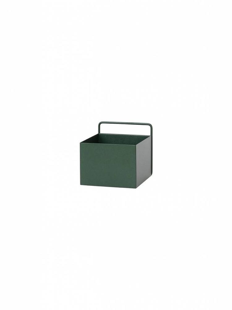 ferm LIVING ferm LIVING Wall Box - Dark Green - Square