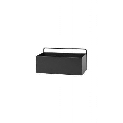 ferm LIVING ferm LIVING Wall Box - Black - Rectangle