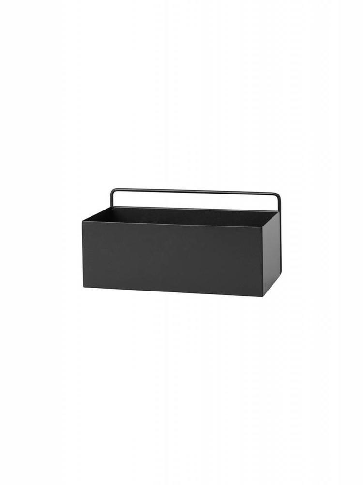 ferm LIVING ferm LIVING Wall Box - Black - Rectangle