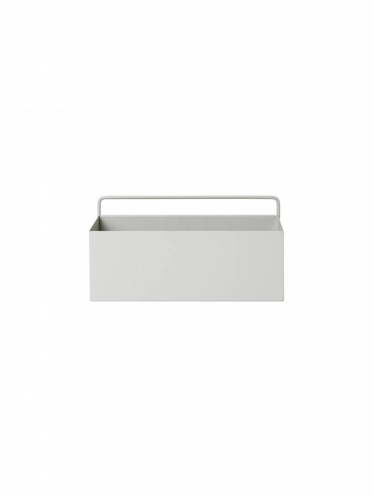 ferm LIVING ferm LIVING Wall Box - Light Grey - Rectangle
