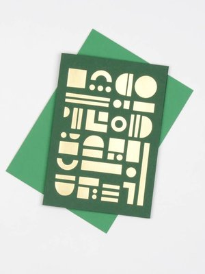 Tom Pigeon Tom Pigeon Artefact Cards Brass - Forest