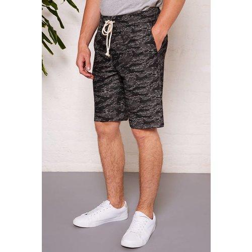 HYMN London 'TREK' Denim Cammo Shorts