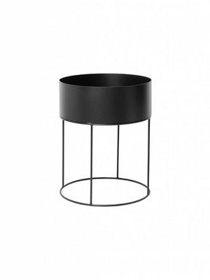 ferm LIVING ferm LIVING Plant Box - Round - Black