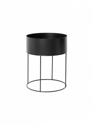 ferm LIVING Plant Box - Round - Black