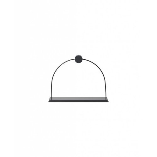 ferm LIVING Bathroom Shelf - Black