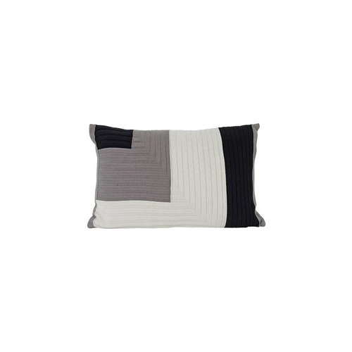 ferm LIVING Angle Knit Cushion - Grey