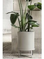 ferm LIVING Bau Plant Pot - Warm Grey - Large