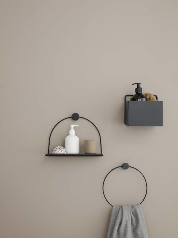 ferm LIVING ferm LIVING Wall Box - Black - Square