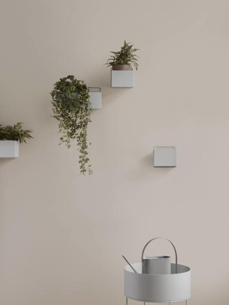ferm LIVING ferm LIVING Wall Box - Light Grey - Square
