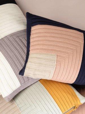 ferm LIVING Ferm Living Angle Knit Cushion - Grey