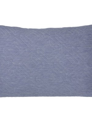 ferm LIVING Quilt Cushion - Light Blue 60x40