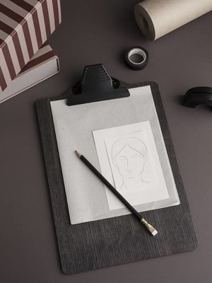 ferm LIVING ferm LIVING Clipboard - A4 - Stained Black